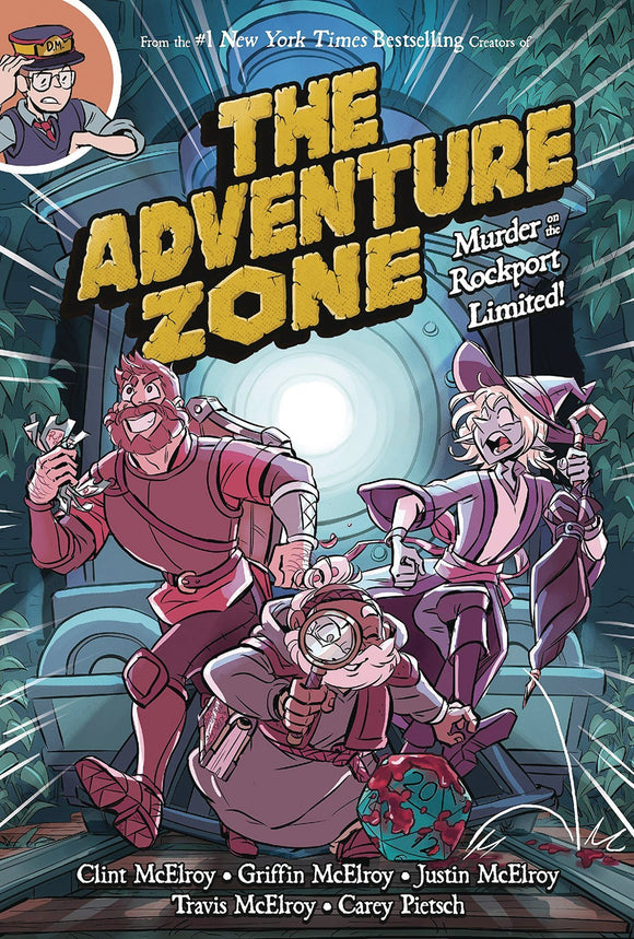 ADVENTURE ZONE VOL 02 MURDER ON ROCKPORT LIMITED GN