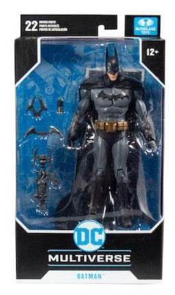 DC MULTIVERSE GAMING WAVE 1 ARKHAM ASYLUM BATMAN 7-INCH AF