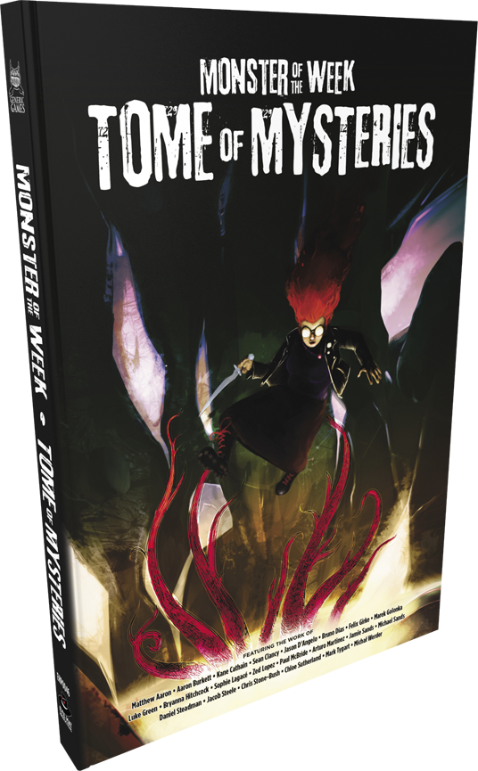 MONSTER OF THE WEEK RPG TOME OF MYSTERIES