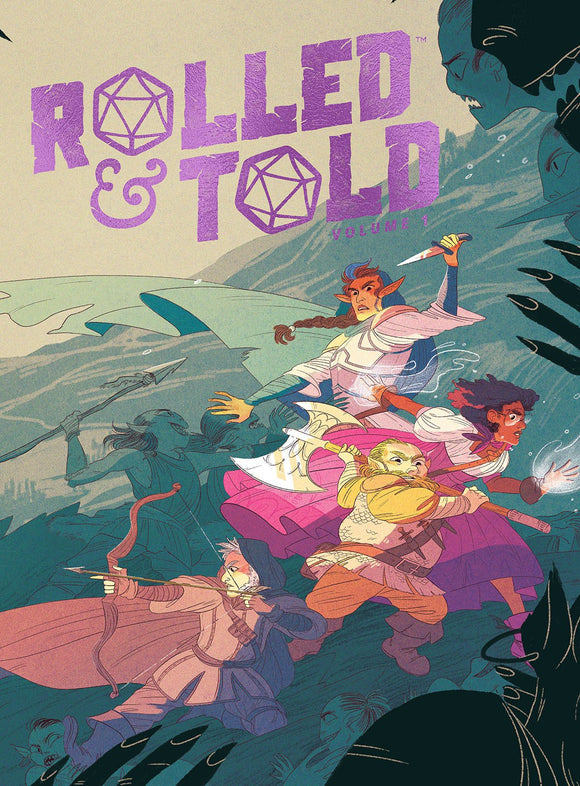 ROLLED & TOLD VOL 01 HC