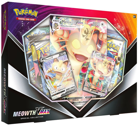 POKÉMON TCG MEOWTH VMAX SPECIAL COLLECTION