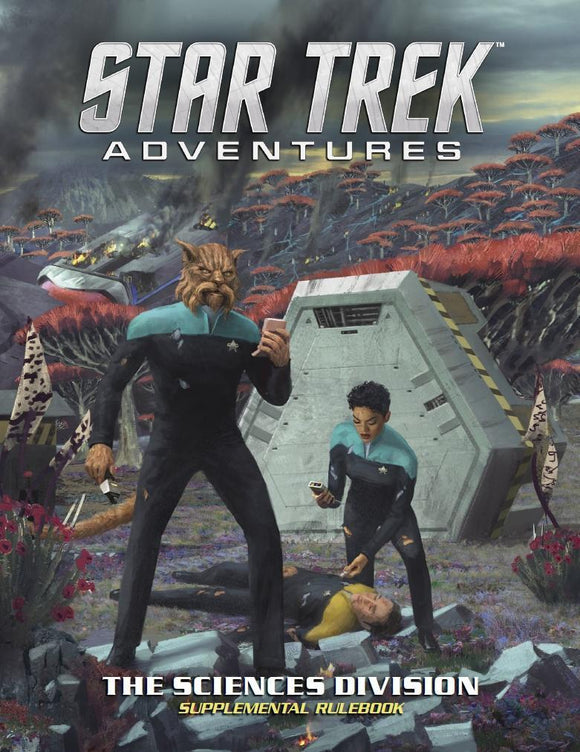 STAR TREK ADVENTURES RPG SCIENCE DIVISION SUPPLEMENTAL RULEBOOK