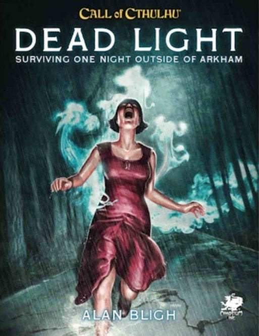CALL OF CTHULHU RPG 7TH ED DEAD LIGHT AND OTHER DARK TURNS