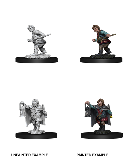 D&D NOLZUR'S MARVELOUS MINIATURES HALFLING MALE ROGUE