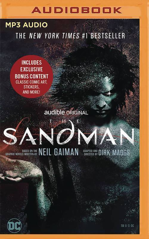 SANDMAN AUDIO BOOK MP3 VOL 01 CD