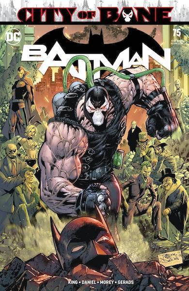 BATMAN CITY OF BANE PART 1 COMIC PACK