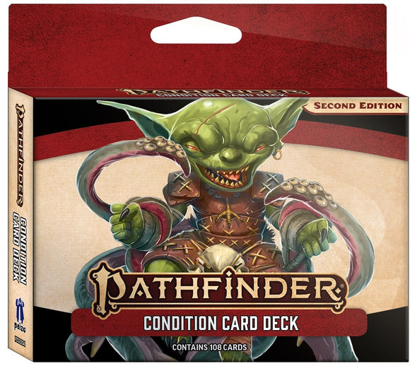 PATHFINDER 2ND EDITION RPG CONDITION CARD DECK