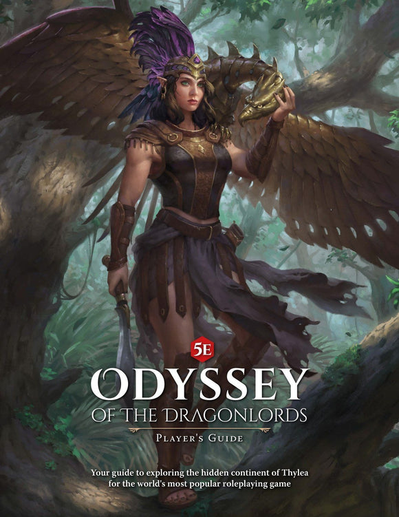 ODYSSEY OF THE DRAGONLORDS 5E RPG PLAYER'S GUIDE