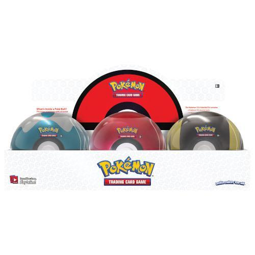 POKÉMON TCG POKEBALL TIN SERIES 4