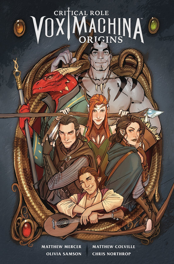 CRITICAL ROLE VOL 01 VOX MACHINA ORIGINS TP