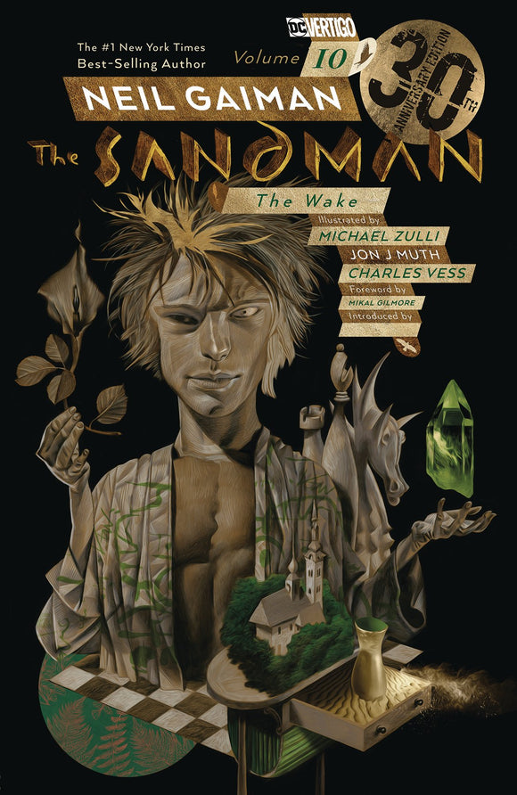 SANDMAN VOL 10 THE WAKE 30TH ANNIV ED TP