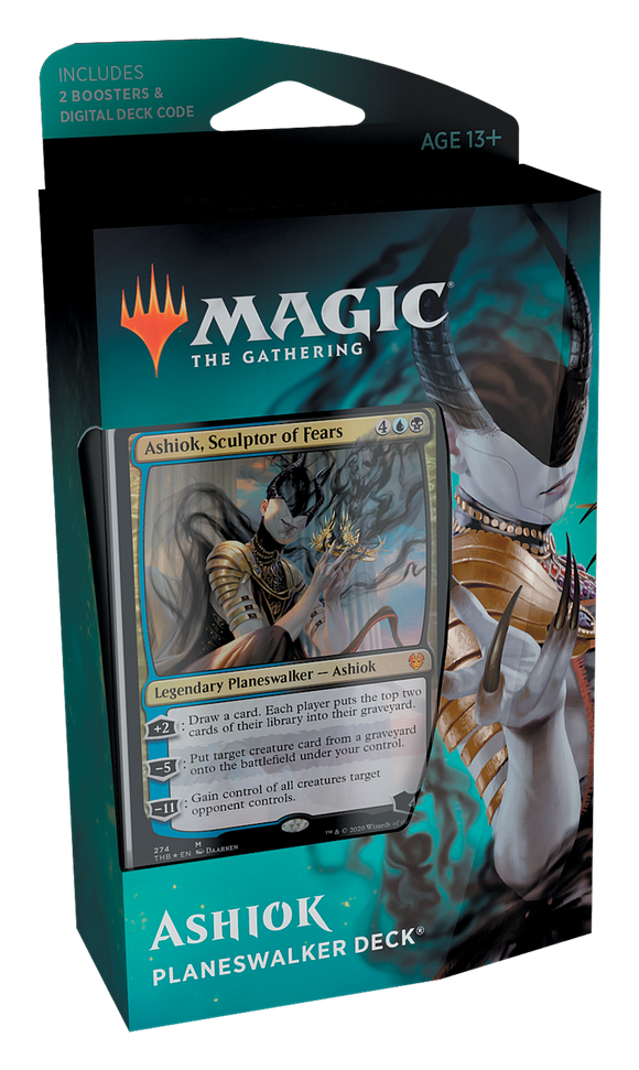 MAGIC: THE GATHERING THEROS BEYOND DEATH PLANESWALKER DECK ASHIOK