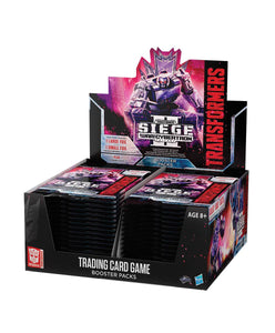 TRANSFORMERS TCG WAR FOR CYBERTRON SIEGE II BOOSTER PACK