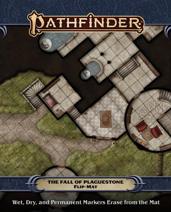 PATHFINDER 2ND EDITION RPG FLIP-MAT: THE FALL OF PLAGUESTONE