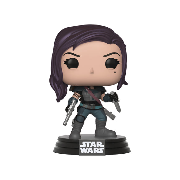 POP! STAR WARS: THE MANDALORIAN CARA DUNE VINYL FIG