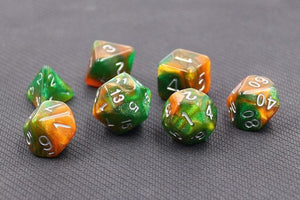 HD POLYHEDRAL 7-DIE SET - EMERALD VALE