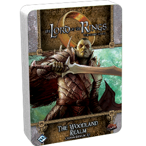 LORD OF THE RINGS LCG THE WOODLAND REALM CUSTOM SCENARIO KIT