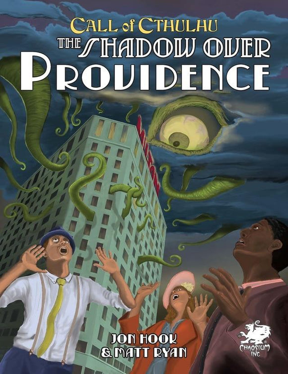 CALL OF CTHULHU RPG 7TH ED THE SHADOW OVER PROVIDENCE