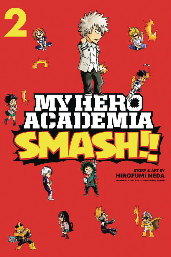 MY HERO ACADEMIA SMASH VOL 02 GN