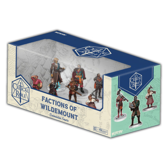[PREORDER] CRITICAL ROLE PREPAINTED: FACTIONS OF WILDEMOUNT - DWENDALIAN EMPIRE BOX SET
