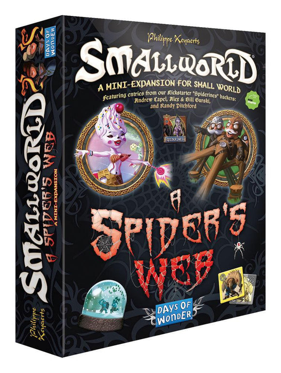 SMALL WORLD A SPIDER'S WEB EXPANSION