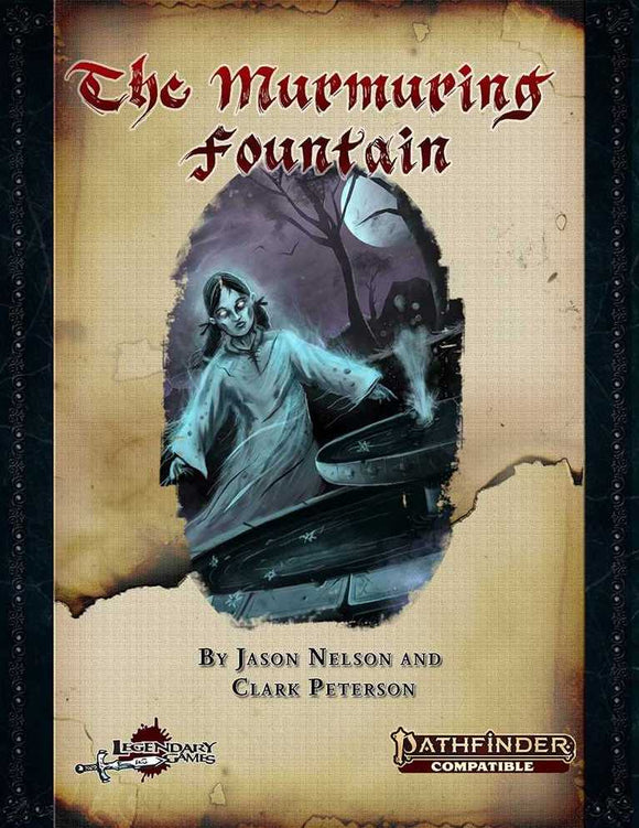 [PREORDER] PATHFINDER 2ND EDITION RPG ADVENTURE:  THE MURMURING FOUNTAIN