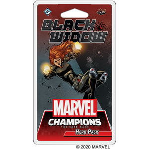 MARVEL CHAMPIONS THE CARD GAME BLACK WIDOW HERO PACK