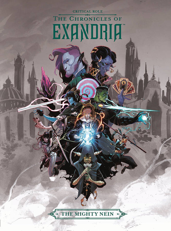 CRITICAL ROLE VOL 01 CHRONICLES OF EXANDRIA MIGHTY NEIN HC