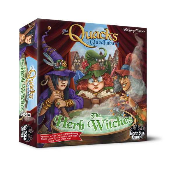 THE QUACKS OF QUEDLINBURG THE HERB WITCHES EXPANSION