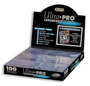 ULTRA PRO PLATINUM 9 POCKET PAGE