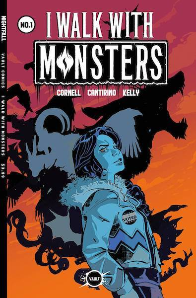 I WALK WITH MONSTERS #1 CVR B DANIEL GOODEN