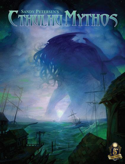 SANDY PETERSON'S CTHULHU MYTHOS FOR 5E RPG