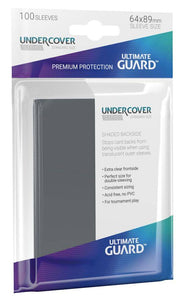 ULTIMATE GUARD UNDERCOVER SLEEVES STANDARD SIZE (100)