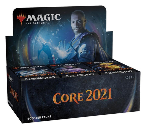 MAGIC: THE GATHERING CORE 2021 BOOSTER BOX
