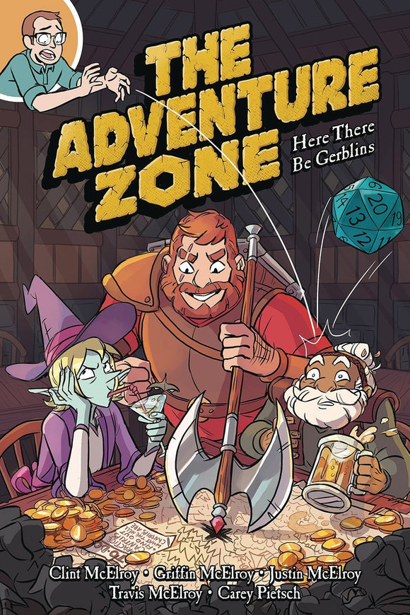 ADVENTURE ZONE VOL 01 HERE THERE BE GERBLINS GN