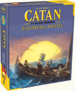 CATAN EXPLORERS & PIRATES 5 & 6 PLAYER EXPANSION (2015 REFRESH)