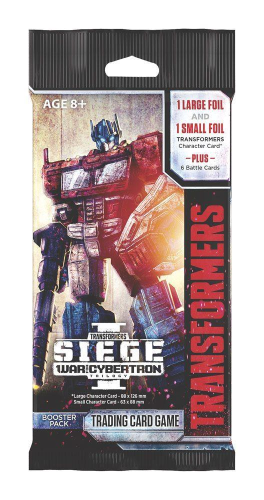 TRANSFORMERS TCG SIEGE 1 BOOSTER PACK