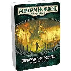 ARKHAM HORROR: THE CARD GAME LCG CARNEVALE OF HORRORS SCENARIO PACK