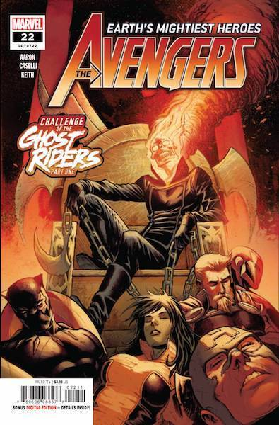 AVENGERS CHALLENGE OF THE GHOST RIDERS COMIC PACK