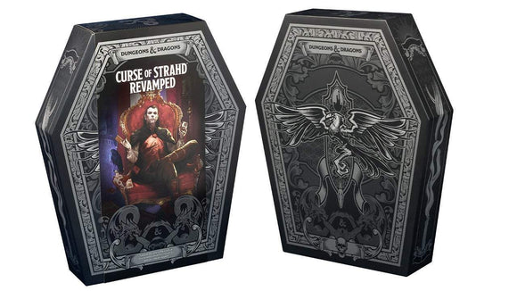 DUNGEONS & DRAGONS 5E RPG CURSE OF STRAHD REVAMPED