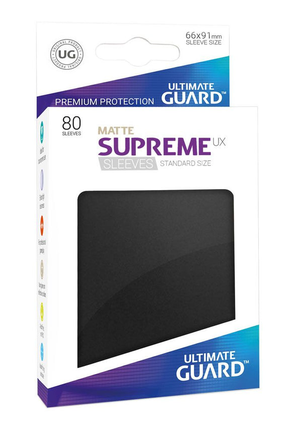 ULTIMATE GUARD SUPREME UX SLEEVES STANDARD SIZE MATTE (80)