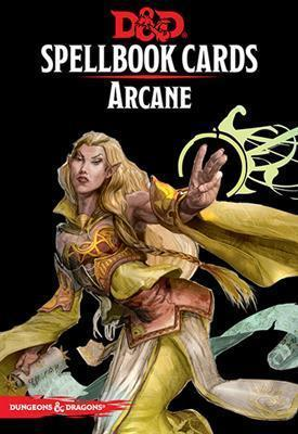 DUNGEONS & DRAGONS 5TH EDITION RPG ARCANE SPELLBOOK CARDS (2017)