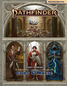 PATHFINDER 2ND EDITION RPG LOST OMENS GODS & MAGIC