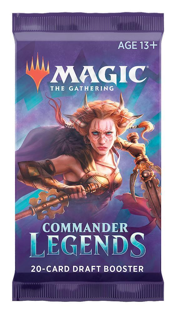 MAGIC: THE GATHERING COMMANDER LEGENDS DRAFT BOOSTER PACK