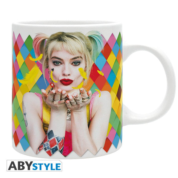 BIRDS OF PREY MOVIE HARLEY QUINN MATTE 320ML MUG