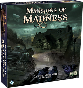 MANSIONS OF MADNESS 2ND ED HORRIFIC JOURNEYS EXPANSION