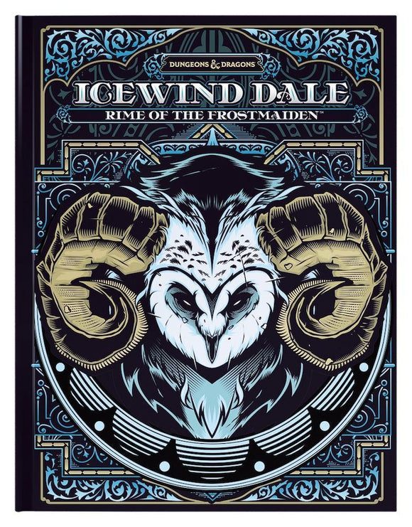 DUNGEONS & DRAGONS 5TH EDITION RPG ICEWIND DALE RIME OF THE FROSTMAIDEN ALTERNATE COVER