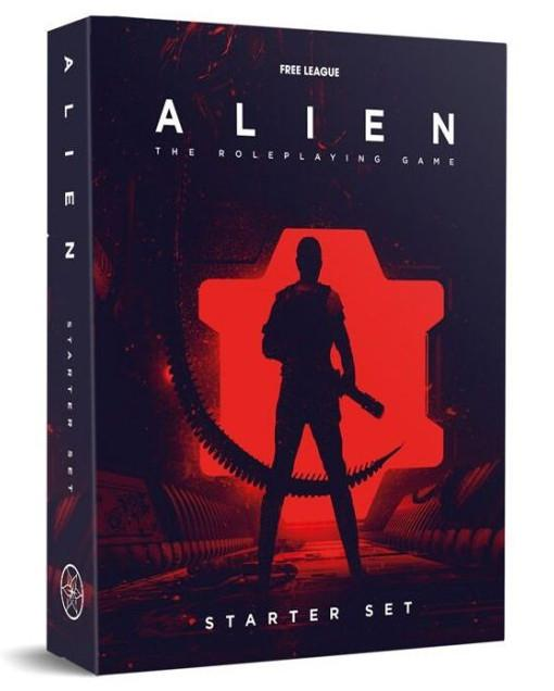 ALIEN RPG STARTER SET (PDF INCLUDED)