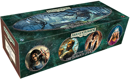 ARKHAM HORROR: THE CARD GAME LCG RETURN TO THE DUNWICH LEGACY EXPANSION