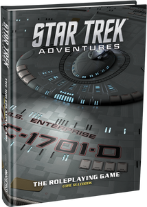 STAR TREK ADVENTURES RPG CORE RULEBOOK COLLECTOR'S EDITION